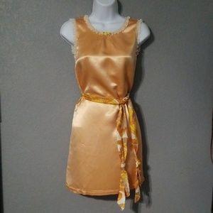 Gorgeous VTG Satin Slip Dress